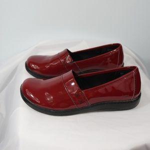 BOC Born Concept Red Slip-on Clog Size 8